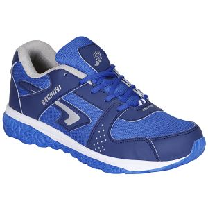 Bachini Blue Sport Shoes For Men (product Code - 1606-blue)