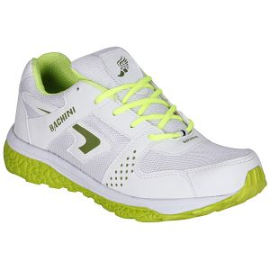 Bachini White Green Sport Shoes For Men (product Code - 1606-white Green)