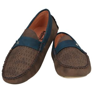 Brown Loafers For Men (code - 1655-brown)