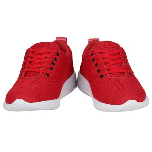 Red Sports Shoes For Mens (code - 1657-red)