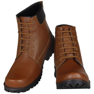Boots (Men's) - Tan Boot for Men (Code - 1632-Tan)