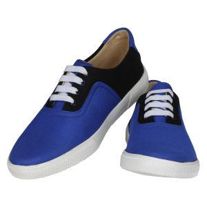 Blue Black Casual Shoes For Men (code - 1619-blue Black)
