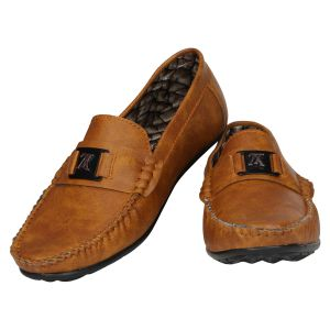 Tan Formal Slip On For Men (code - 1647-tan)