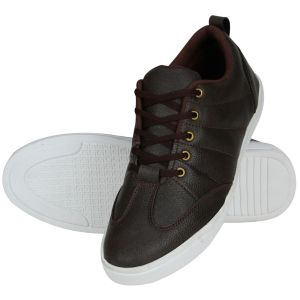 Sneakers for men - Brown Casual Sneakers for Men (Code - 1643-Brown)