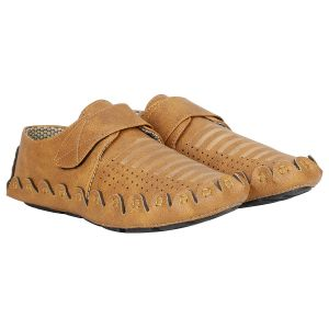 Bachini Desi Fever Driving Shoe For Men (code- 1665 Tan)