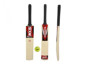 Kks Champ Size 5 Cricket Tennis Bat , Free Tennis Ball