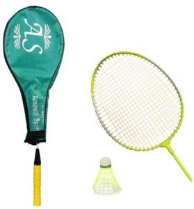 As - Wide Body Badminton Racquet (set Of One)