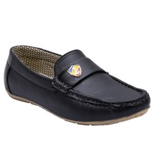 Mansway Black Casual Shoes For Men ( Code - Mn-2027-blk_6)