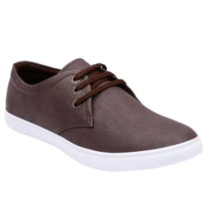 Mansway Brown Casual Shoes For Men ( Code - Mn-6251-brn )