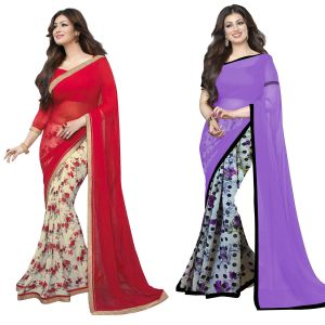 Wama Designer Sarees - Wama Fashion Self Design Saree For Women With Blouse Piece(TZ_Valention-jasmine)