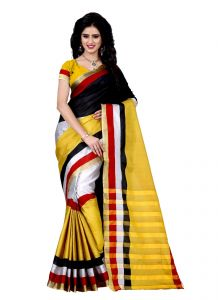 Wama Silk Sarees - Wama tussar silk saree with blouse(TZ_Sujata)