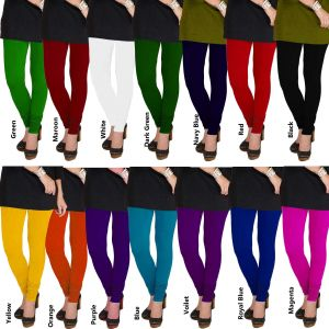 Leggings - TBZ Cotton Lycra Women's Leggings (Code - LEG-RBLYCOT)