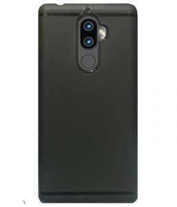 Tbz Tpu Back Case Cover For Lenovo K8 Plus - Black
