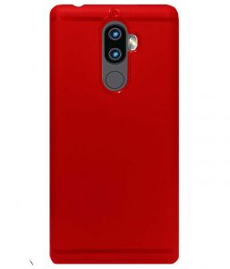 Tbz Soft Tpu Back Case Cover For Lenovo K8 Plus -red