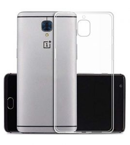 Tbz Transparent Silicon Tpu Slim Back Case Cover For Oneplus 3t
