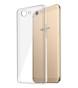 Tbz Transparent Soft Tpu Back Case Cover For Oppo F3 Plus