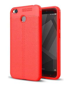 Tbz Soft Tpu Slim Back Case Cover For Oneplus 5t -red