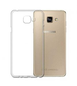 Tbz Transparent Silicon Soft Tpu Slim Back Case Cover For Samsung Galaxy On7 Prime