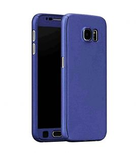Tbz 360 Degree Protection Front & Back Case Cover For Lenovo K8 Plus -blue