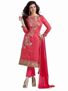 Astounding Pink Color Suit By Swamishreejiart
