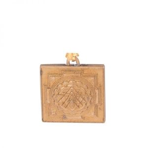 Ashtadhatu Shree Yantra Pendant