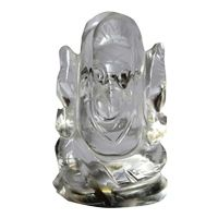 Crystal Ganesha (50 Gm) By Pandit Nm Shrimali