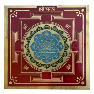 Shri Yantra Gold Plated By Pandit Nm Shrimali
