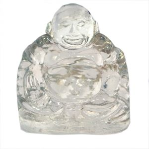 Crystal Buddha (80 Gm) By Pandt Nm Shrimali