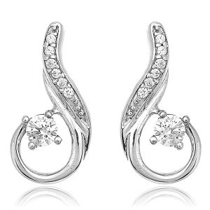 Sheetal Impex Certified Real Natural Diamonds Earring For Somone Special