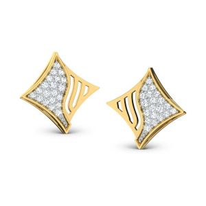 Sheetal Impex 0.60 Tcw Real Natural Diamond Studded 14k Yellow Gold