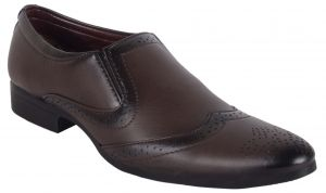 George Adam Mens Designer Brook Shoes (code - 067 Brown)