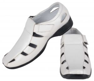 George Adam White Mens Sandal(code - 074 White)