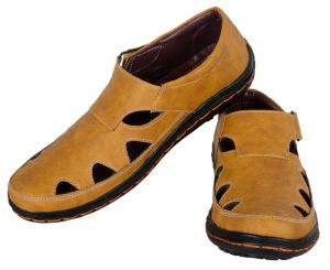 George Adam Mens Tan Sandal