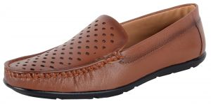 George Adam Mens Tan Loafers