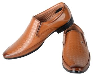 George Adam Tan Mens Partywear Shoes