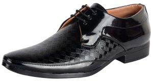 George Adam Black Partywear Mens Shoes
