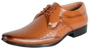 George Adam Tan Mens Laceup Shoes