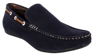 Loafers (Men's) - George Adam Mens Synthetic Leather Blue Loafers (Code - ch_2201_blue)