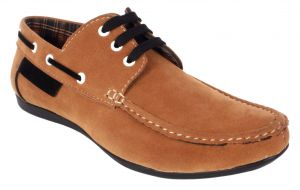 Loafers (Men's) - George Adam Mens Synthetic Leather Tan Loafers (Code - ch_2216_tan)