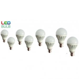 LED Cool White Bulbs 9 W (set Of 8)