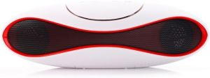 Quace Capsule Bluetooth Speaker Wired & Wireless Mobile/tablet Speaker (white, Single Unit Channel)