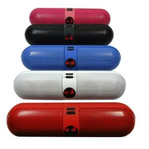 Portable Wireless Nfc Pill Bluetooth Stereo Speaker (black)