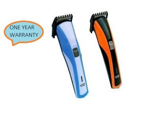 Nova,Kaamastra,Maybelline,Kawachi Personal Care & Beauty - Nova NHC-3016 Nove Trimmer For Men (Orange, Blue)