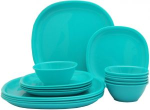 Incrizma Pack Of 18 Dinner Set (polypropylene)