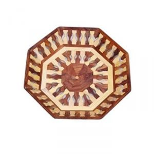 Onlineshoppee Home Decor ,Kitchen  - OnlineShoppee Beautiful Handicrafts Wooden Lining Tray