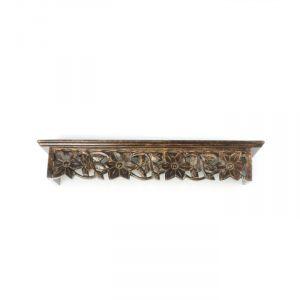 Onida Home Decor & Furnishing - Onlineshoppee Large Solid Wood Wall Shelf