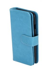 Tablet Cases - HashTag Glam 4 Gadgets 3 in 1 Wallet Case Cover for Apple iPhone 5 Blue