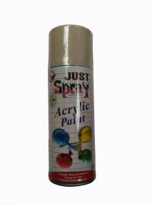 Just Spray Car Auto Multi Purpose Lacquer Spray Paint Siemens Grey (400ml)