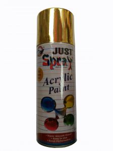 Just Spray Auto Multi Purpose Lacquer Spray Paint Bronze Gold (400ml)