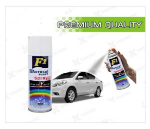 Car Auto Multi Purpose Lacquer Spray Paint Metallic White